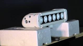 ledp10w 60e led light emitter 6 10 w leds 5160 lumen 475 l x 80 spot beam ext environment