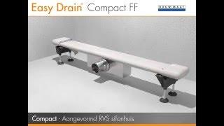 Badkamer renoveren met Easy Drain Compact FF