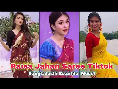 Download Raisa Jahan Saree Tiktok । রাইসা জাহান শাড়ি টিকটক । Bangladeshi Beautiful Model । AH Tiktok Videos