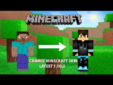 ✔ How to change skin in Minecraft 1.13