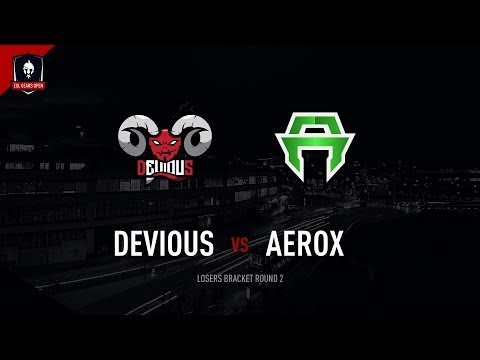 EGL Gears Open Sheffield : Devious Gaming vs Aerox Esports: LBR2 - Map 1