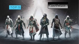 TOP 5 Игр серии Assassin's creed