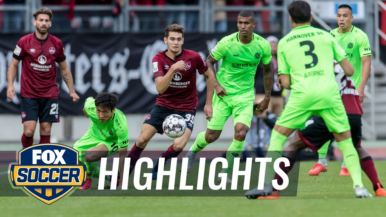 1. FC Nurnberg vs. Hannover 96 | 2018-19 Bundesliga Highlights