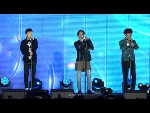 161031 EXO-CBX 첸백시 SHOWCASE - CHERISH FULL FOCUS HD