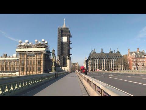 Coronavirus: London wakes