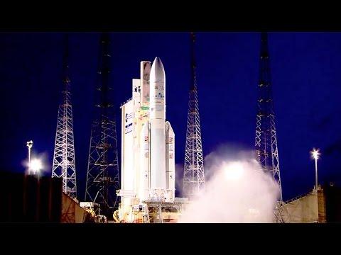 Ariane 5 ECA VA227 launches Arabsat-6B (BADR-7) and GSAT-15