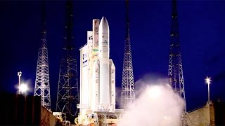 Ariane 5 ECA VA227 launches Arabsat-6B (BADR-7) and GSAT-15