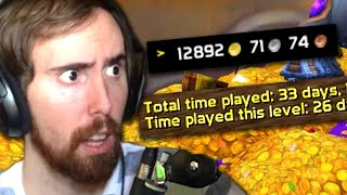 Asmongold is Shocked at How THIS GUY Made 13000 Gold in 30 Days - A Vanilla World of Warcraft Story