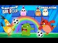 Angry Birds - BirLd Cup | All Episodes Compilation Mashup