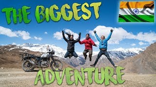 The Biggest Adventure just started ! India