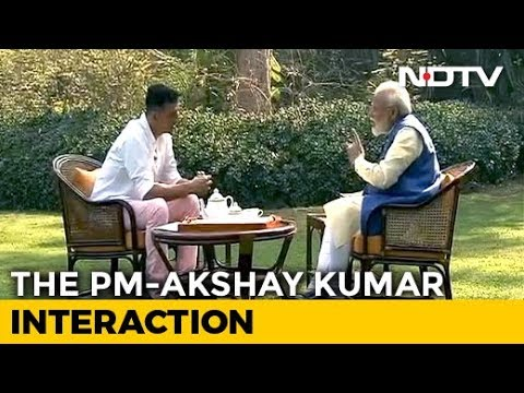 "Narendra Modi Interview | ""I Never Get Angry, It Surprises People,"" PM Modi Tells Actor Akshay Kumar"