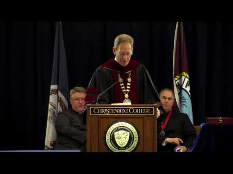 Dr. Timothy O'Donnell | President's Charge to the Graduates | Christendom College
