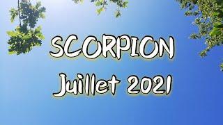 ♏ SCORPION ♏ JUILLET 2021✨ Une décision semble s'imposer à vous !!✨