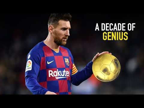 Lionel Messi 2010 - 2020 | A Decade of Genius | Top 10 Goals