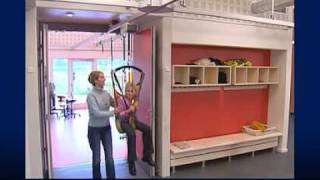 Hoist system for schools and day care centers