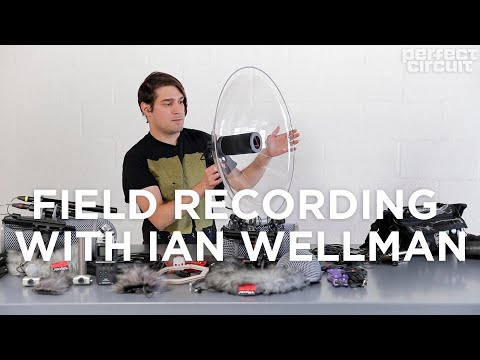 Field Recording Introduction With Ian Wellman - Zoom H5 Setup And Other Microphones Explained
