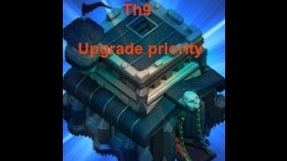 Clash of clans Town Hall 9!! Th9 upgrade priority guide