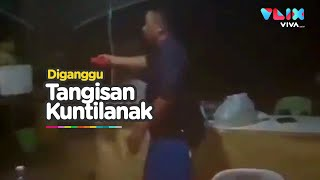 MERINDING! Suara Tangisan Kuntilanak Ganggu Polisi di Pos Jaga