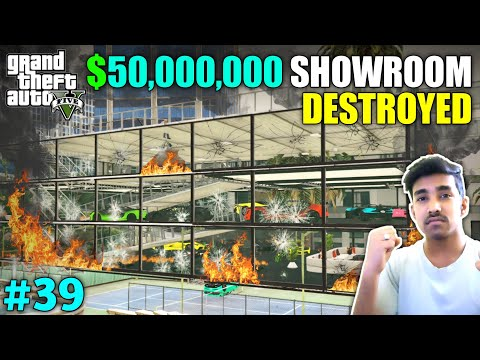 THEY DESTROYED MY SUPERCARS & BIKES SHOWROOM   GTA V GAMEPLAY #39
