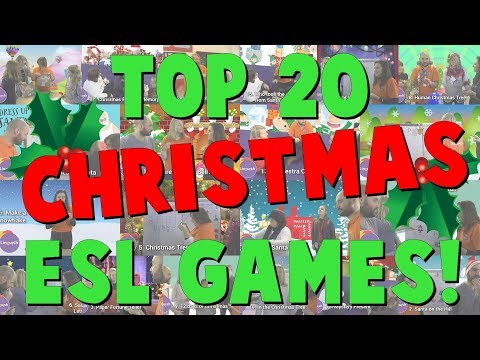 TOP 20 CHRISTMAS ESL GAMES! - Linguish