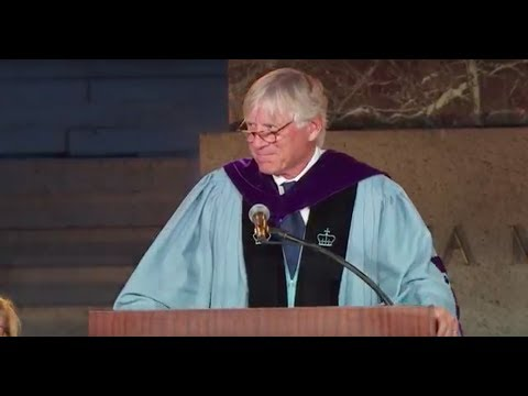 President Bollinger Convocation Remarks 2017