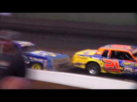 Hobby Stock Heat 2 @ Hancock County Speedway 08/10/17
