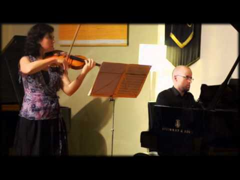 Commercial Road Chamber Music Series 30 March 2012 with Anna McMichael & Daniel de Borah