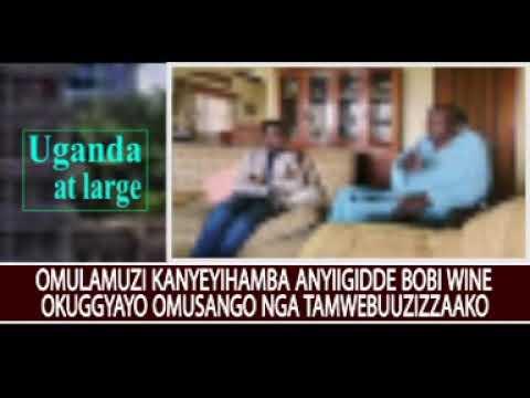 Omulamuzi Kanyeihamba anyiigidde Bobi Wine okuggyayo omusango gwa kalulu nga tamwebuuzizzaako