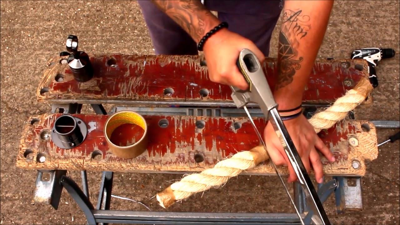 Decking Rope Fittings YouTube - Garden decking rope