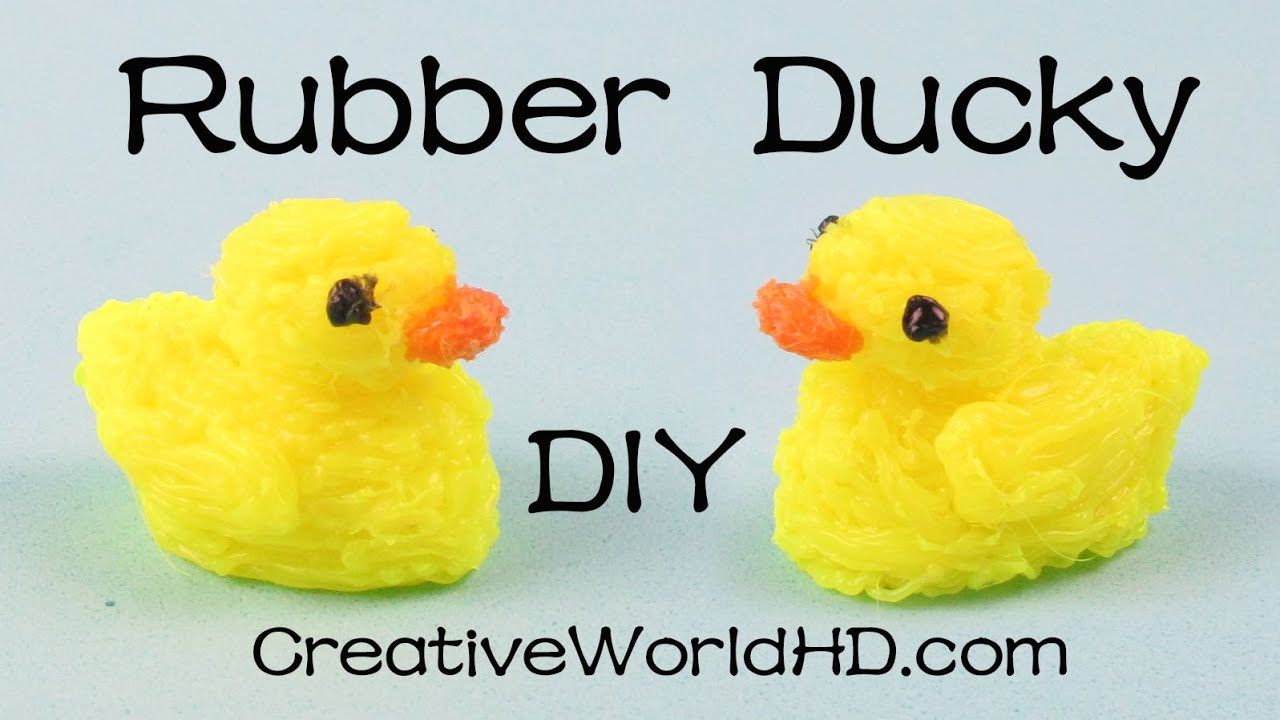 How to Make Rubber Ducky/Duck - 3D Printing Pen Creations DIY ...