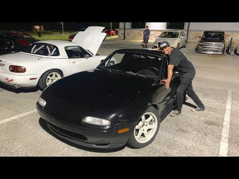 (BOOSTEDBOIZ) BRENT RIPS THE K-SWAPPED MIATA