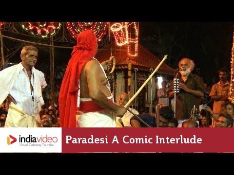Human Effigies in Padayani Ritual, Kerala