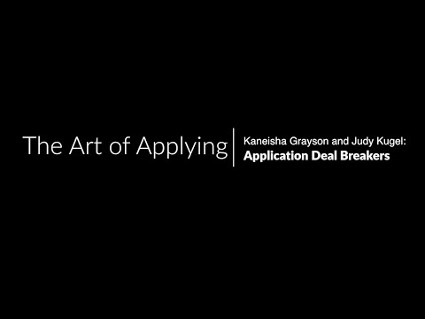 Harvard Kennedy School Application Deal Breakers