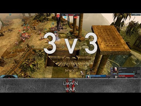 Dawn of War 2 - Faction Wars 2017 | Space Marines vs Eldar #3