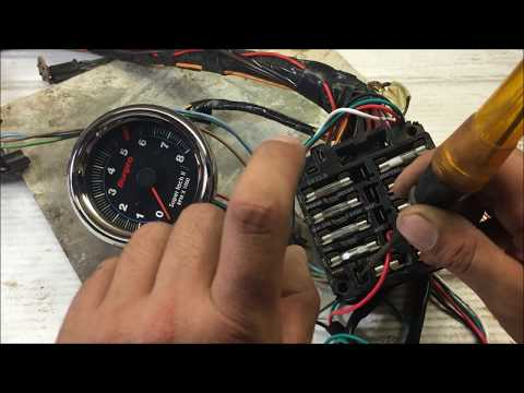 how to install wire up a tach tachometer the right way GM for ...  Wire Tach Wiring on 4 wire light switch, 4 wire diagram, 4 wire wiper motor, 4 wire voltage regulator,