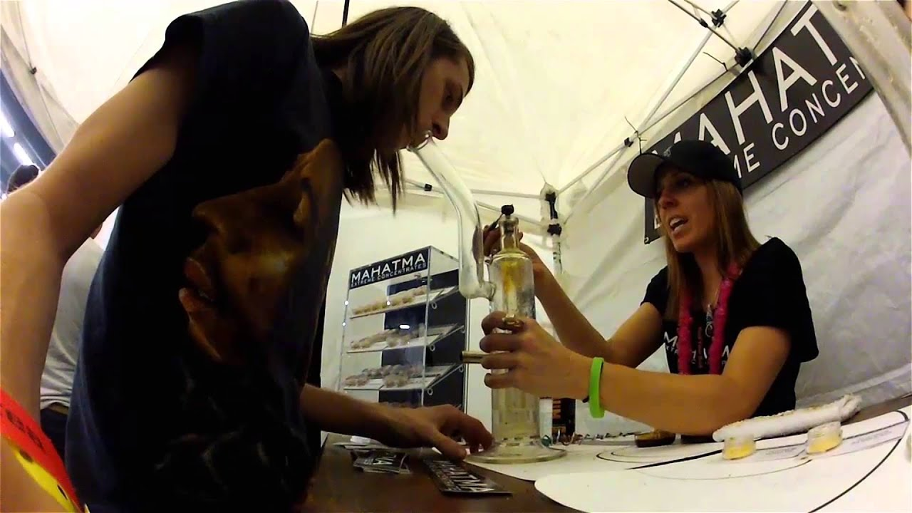 Dabbing My Face Off at the High Times Cannabis Cup 2013