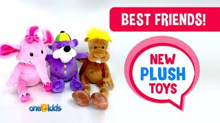 NEW ZAKY'S BEST FRIENDS PLUSH TOYS!