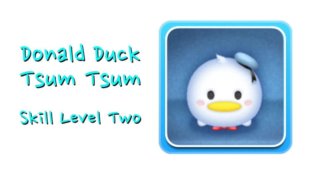 Cómo Dibujar El Pato Donald En La Versión Disney Tsum Tsum: Donald Tsum Tsum Skill Boom