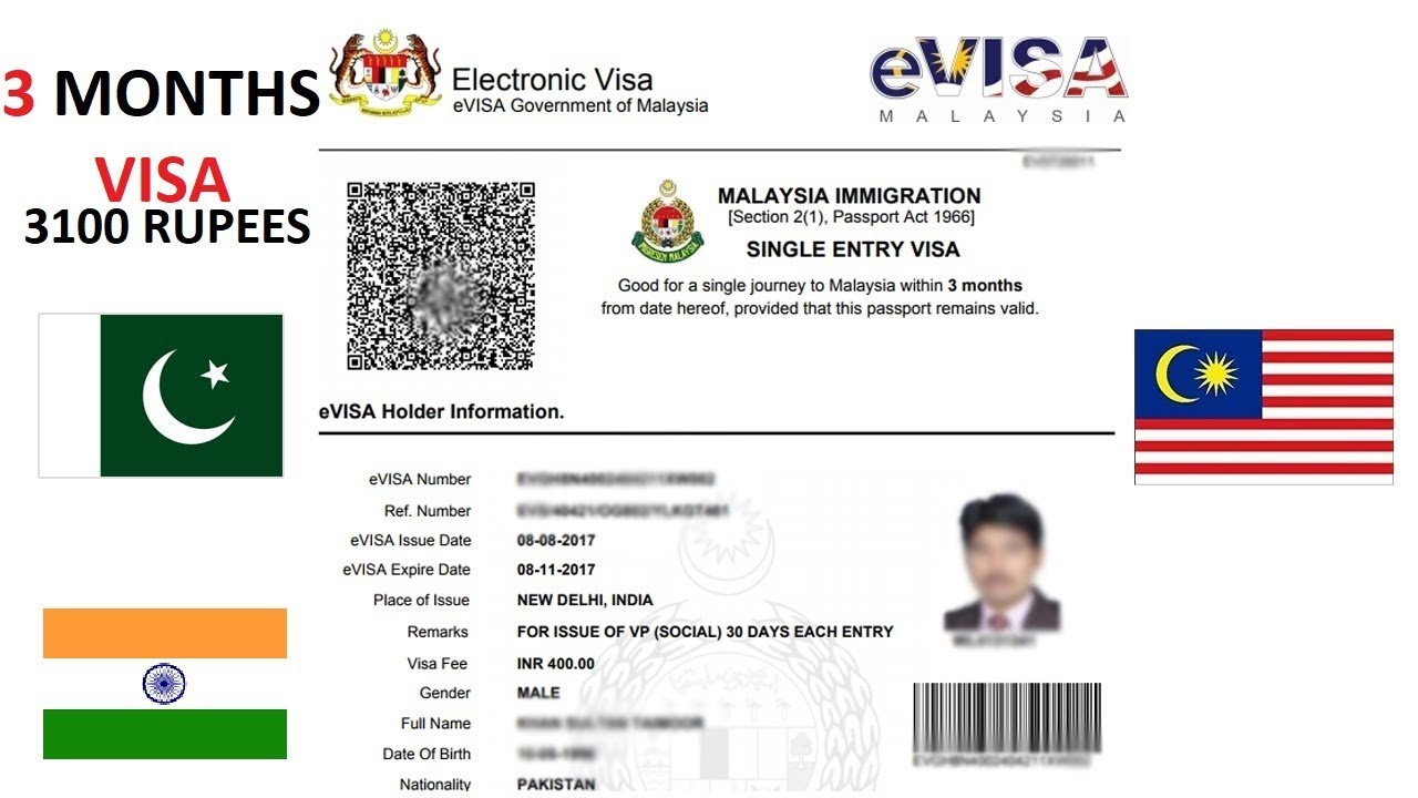 Malaysia Online Visa 2020 Apply For Your Evisa To Malaysia Youtube