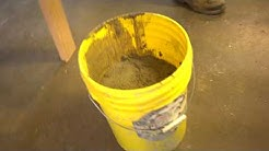 Mixing Cement for Mortared Tile Roofing