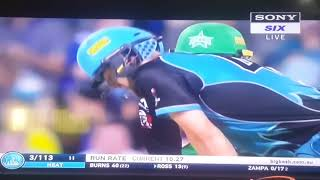 ( Big bash league )Brisbane Heat  Vs Melbourne Stars  2nd Match  Highlights 2017-18