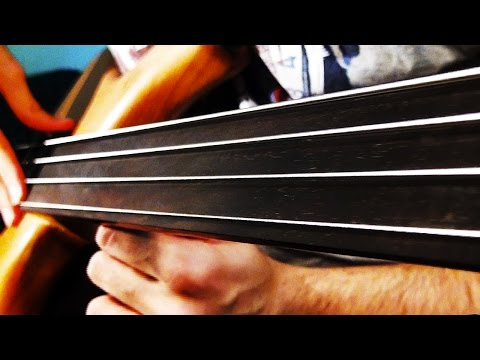 Download Youtube: FRETLESS BASS SOLO