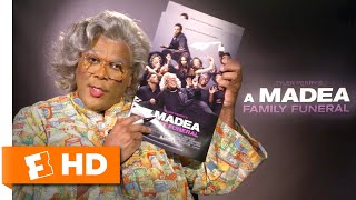 Madea Explains Her Beef with Tyler Perry | 'A Madea Family Funeral' Interview | Fandango All Access