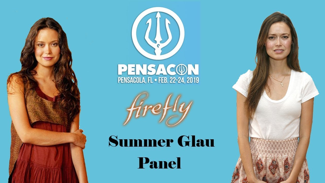 Summer Glau 2020.Summer Glau Panel Pensacon 2019