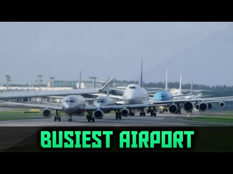 The Busiest Airports in the World 2016