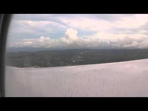 United Flight 201 - Landing into Guam