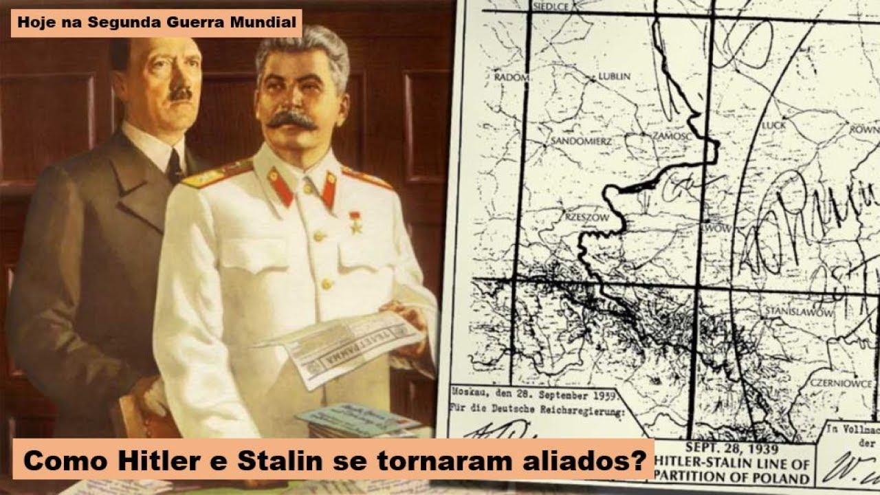 Como Hitler e Stalin se tornaram aliados?