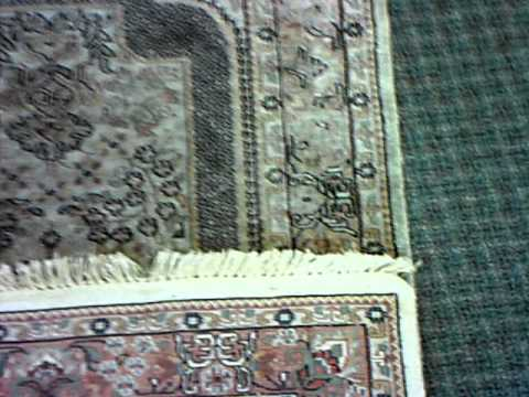 How To Tell Real Silk From Man Made/ Art Silk Rugs
