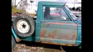 Hometown Tire 1964 Kaiser Jeep J200 Gladiator's first ride in 25 years