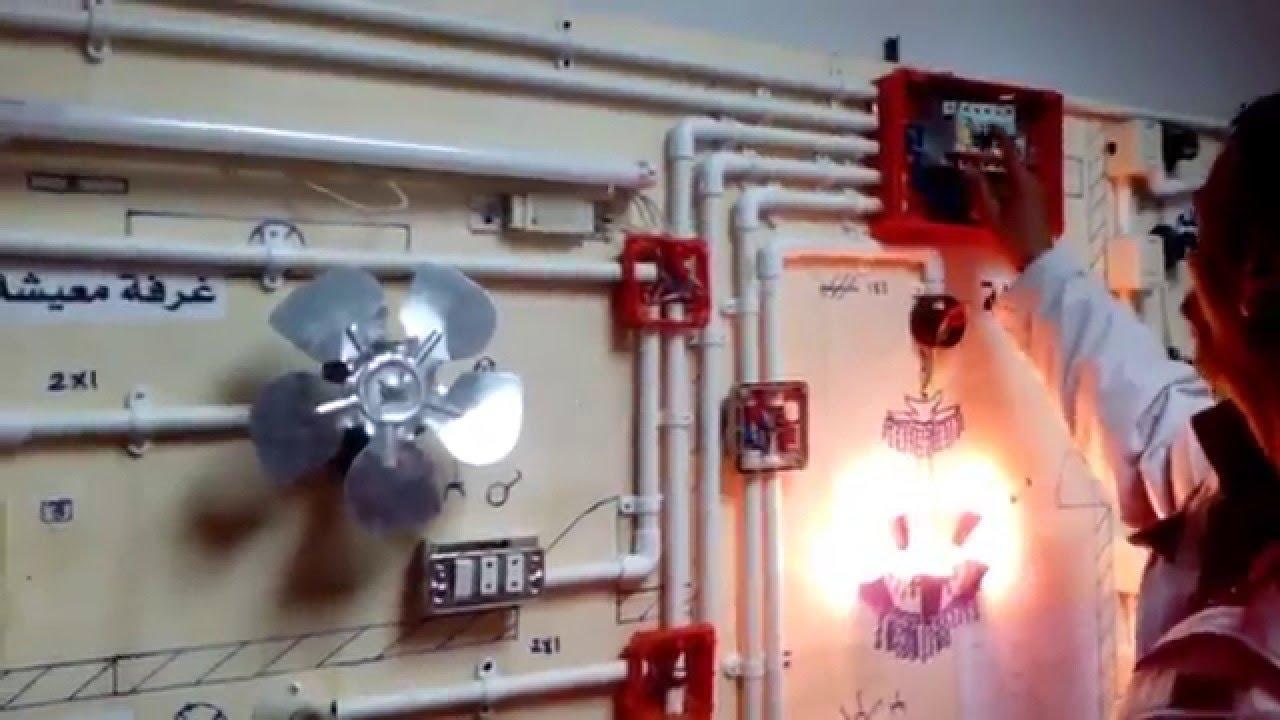 التمديدات الكهربائية المنزلية منهاجي